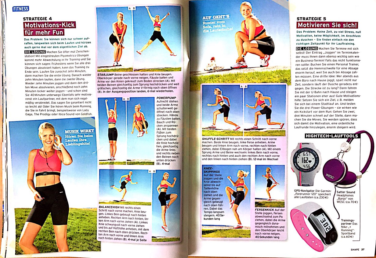 Laufen Für Die Fitness Shape Your Body Nina Winkler