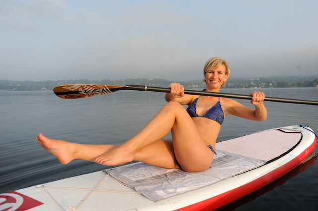 SUP Workout auf dem Starnberger See